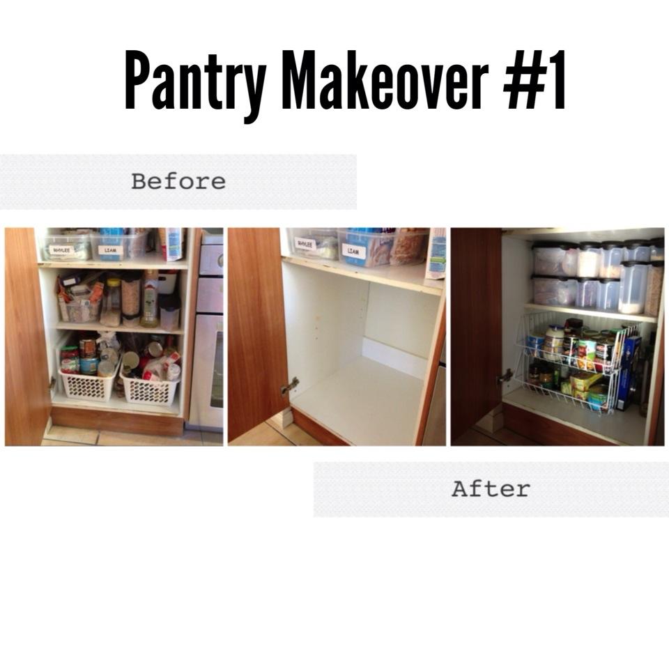 Pantry Shelves Starter Kit: Organising Your Pantry With Kmart