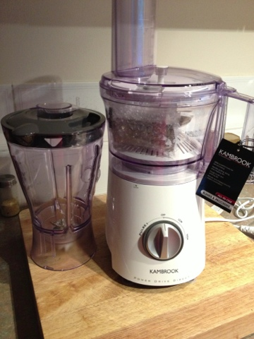 Kambrook power drive direct food processor my extra hand in the kitchen review giveaway - Direct cuisine ...