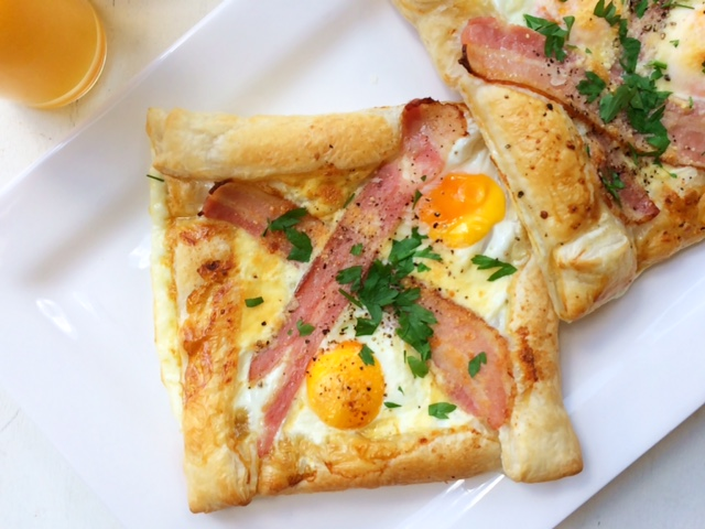 Streaky Bacon and Egg Squares - Cooking for Busy Mums
