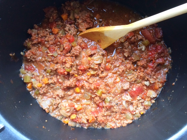 Slow Cooker Bolognese Sauce - Cooking for Busy Mums