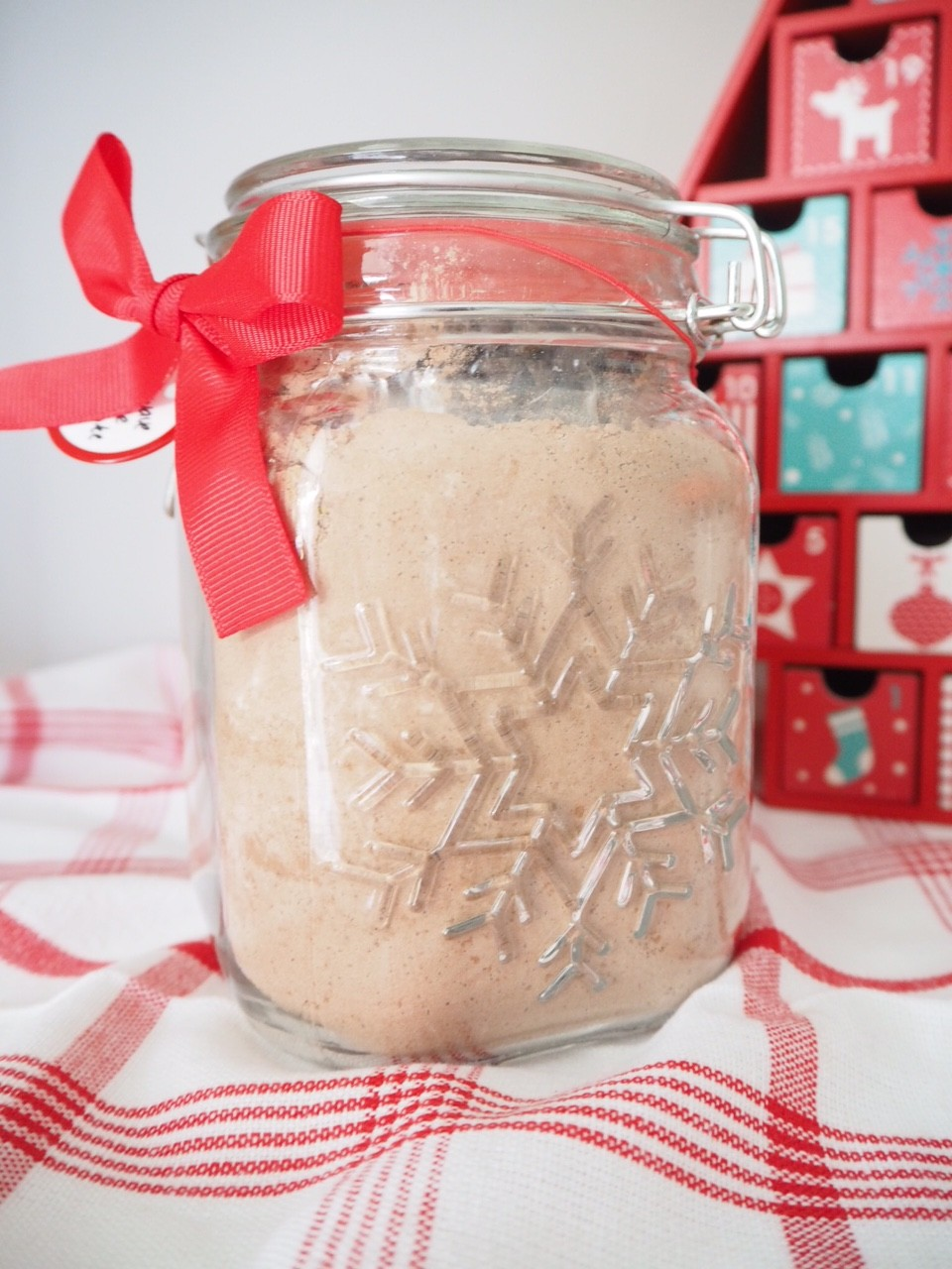 Homemade Gift Chocolate Mug Cake Mix Cooking For Busy Mums