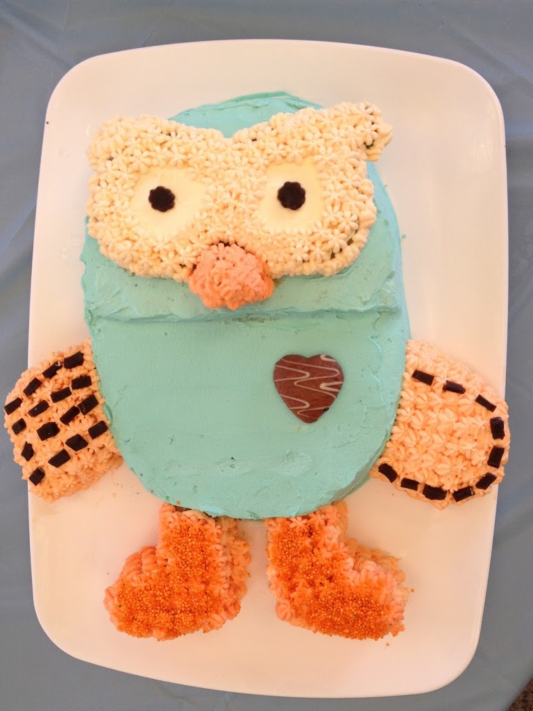 Quot Hoot The Owl Quot 2d Cake From Giggle And Hoot Abc Cooking
