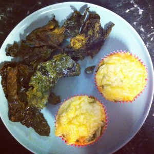 cupcakes and kale chips