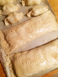 Fridge Clean Out Puff Pastry Parcels