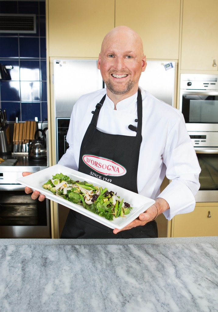 D'Orsogna Chicken, Avocado & Asparagus Salad - Matt