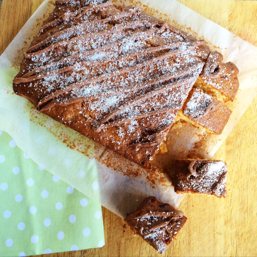 Apricot and Coconut Slice Cake