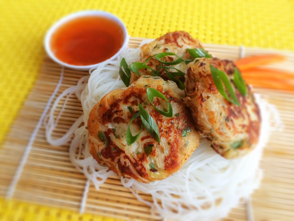 Chang's Gluten Free Fish and Noodle Cakes