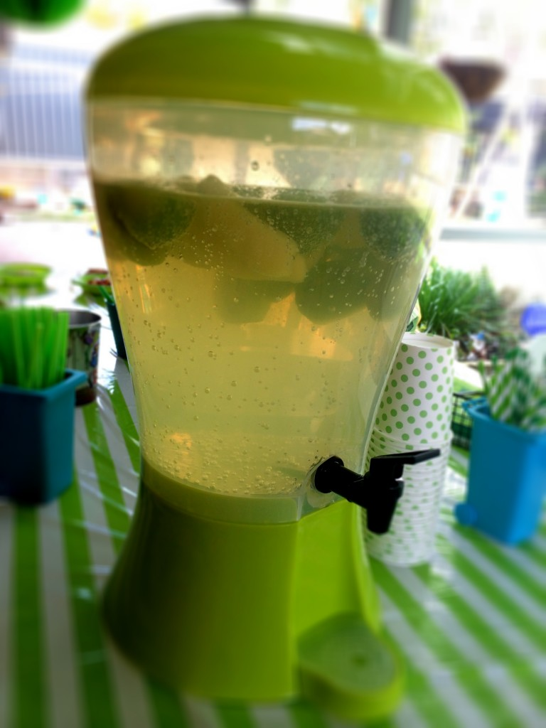 Kids Party Punch Using SodaStream