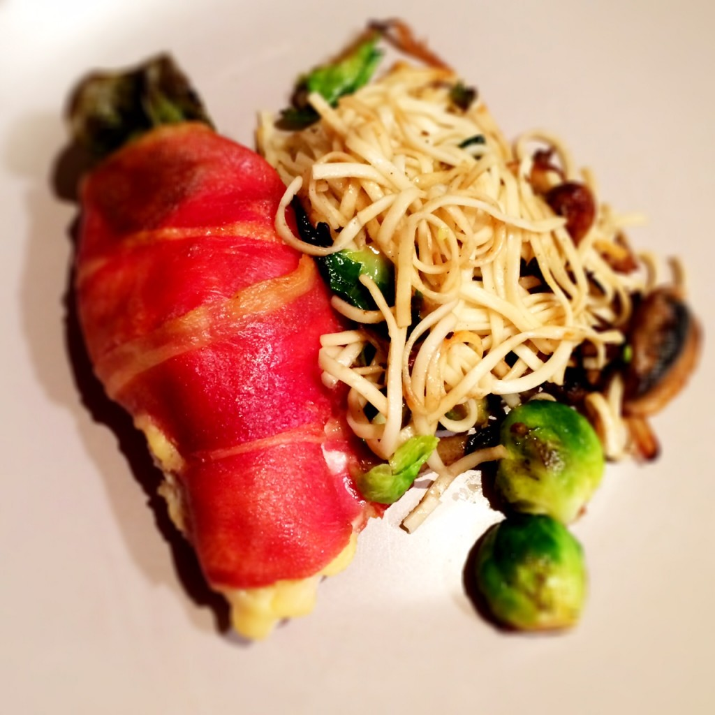 Chicken Breast wrapped in Proscuitto
