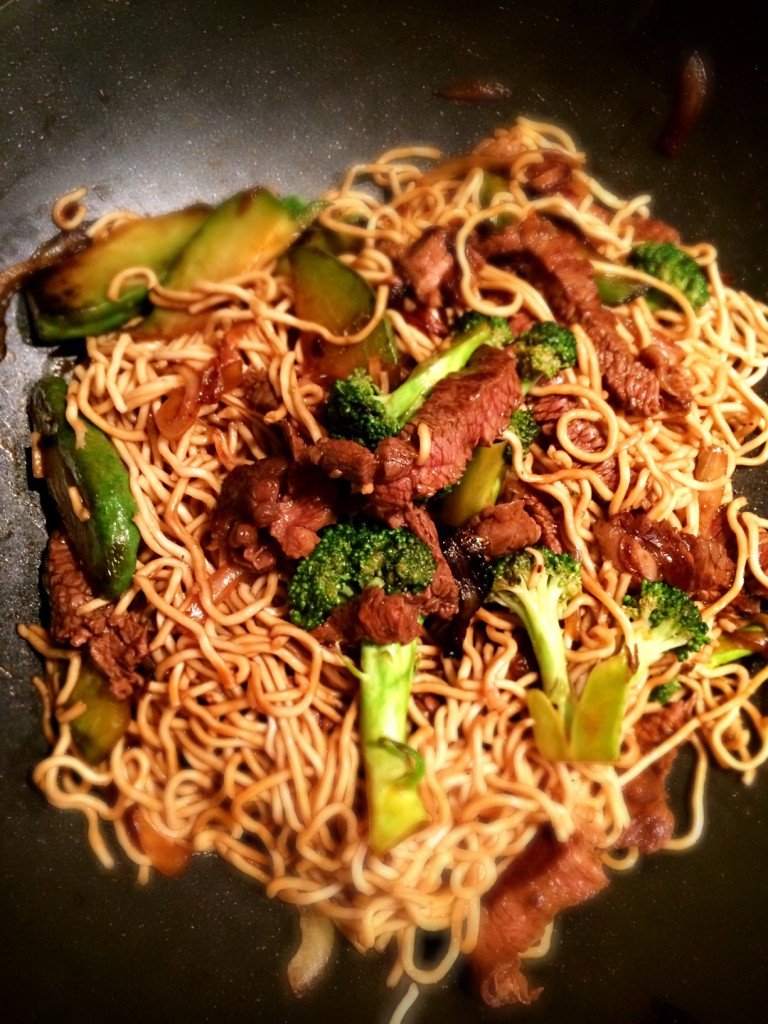 Beef & Broccoli Black Bean with Noodles