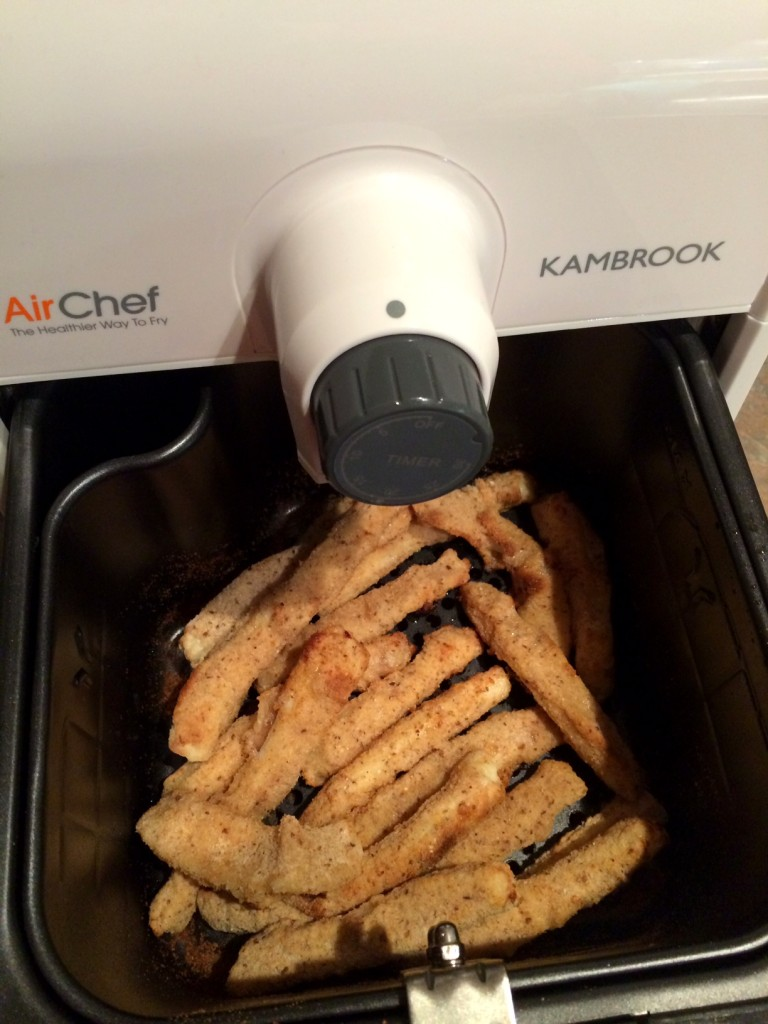 Air Chef Air Fryer Oven - Calamari Sticks