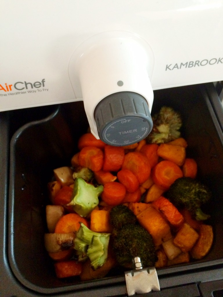 Air Chef Air Fryer Oven - Roast Vegetables
