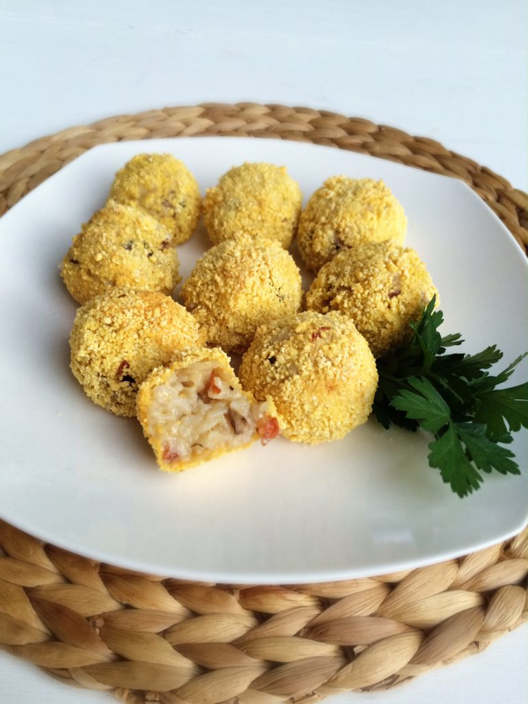 Air Chef Air Fryer Oven - Rissotto Balls
