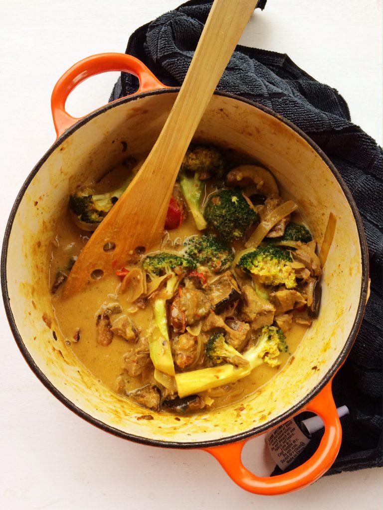 Satay Curry Lamb