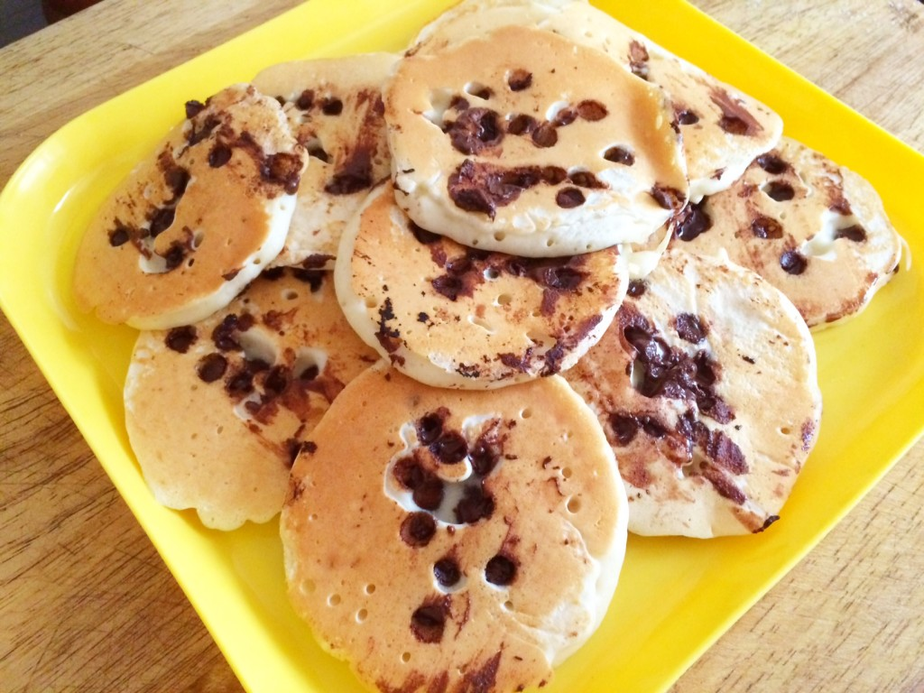 Choc Chip Pikelets