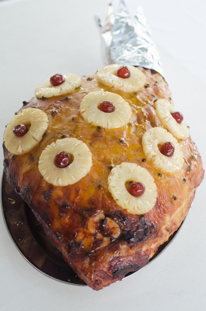 Baked Maple Mustard Ham