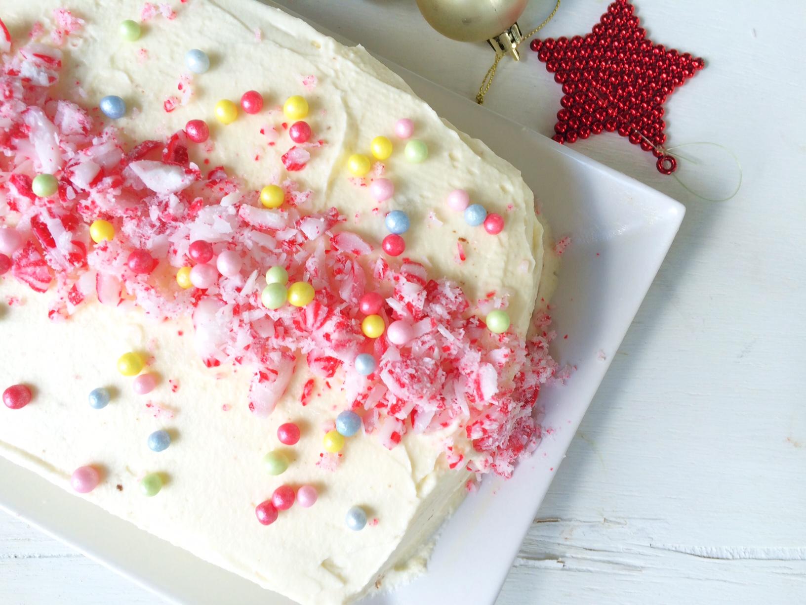 Minty Chocolate Ripple Cake