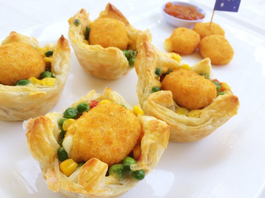 Mozzarella Bite Vegetable Pies - Colonial Farm