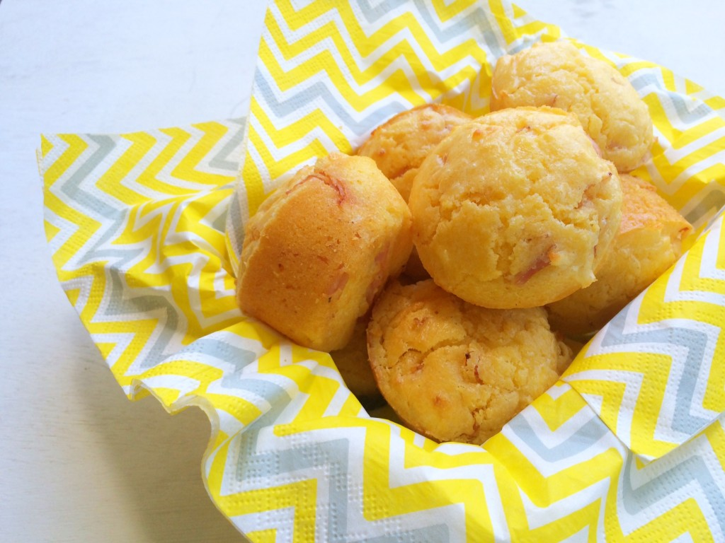D'Orsogna Leg Ham, Cheese and Corn Muffins for the Lunchbox