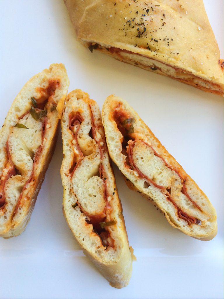 Salami Stromboli