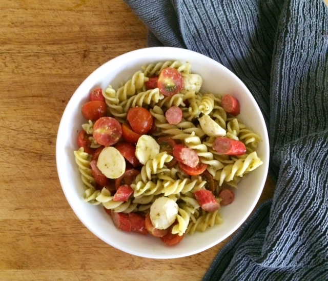 Mild Tasty Sticks Pasta Salad