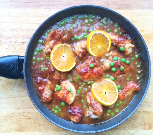 One Pan Orange Chicken