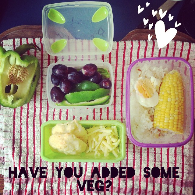 What goes into a healthy lunchbox?