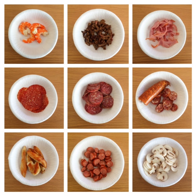 20 Plus Mix and Match Pizza Toppings plus a FREE Printable