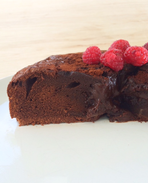 Easy Chocolate Mud Cake made in the Bellini Supercook