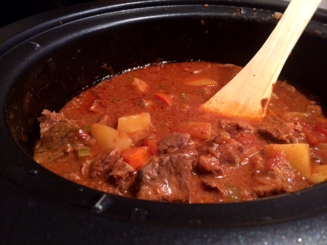 Slow Cooker Mild Beef Curry