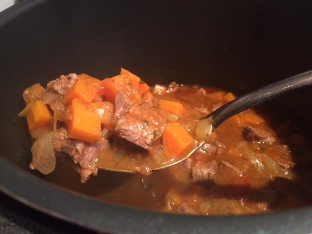Pressure Cooker Beef Rogan Josh