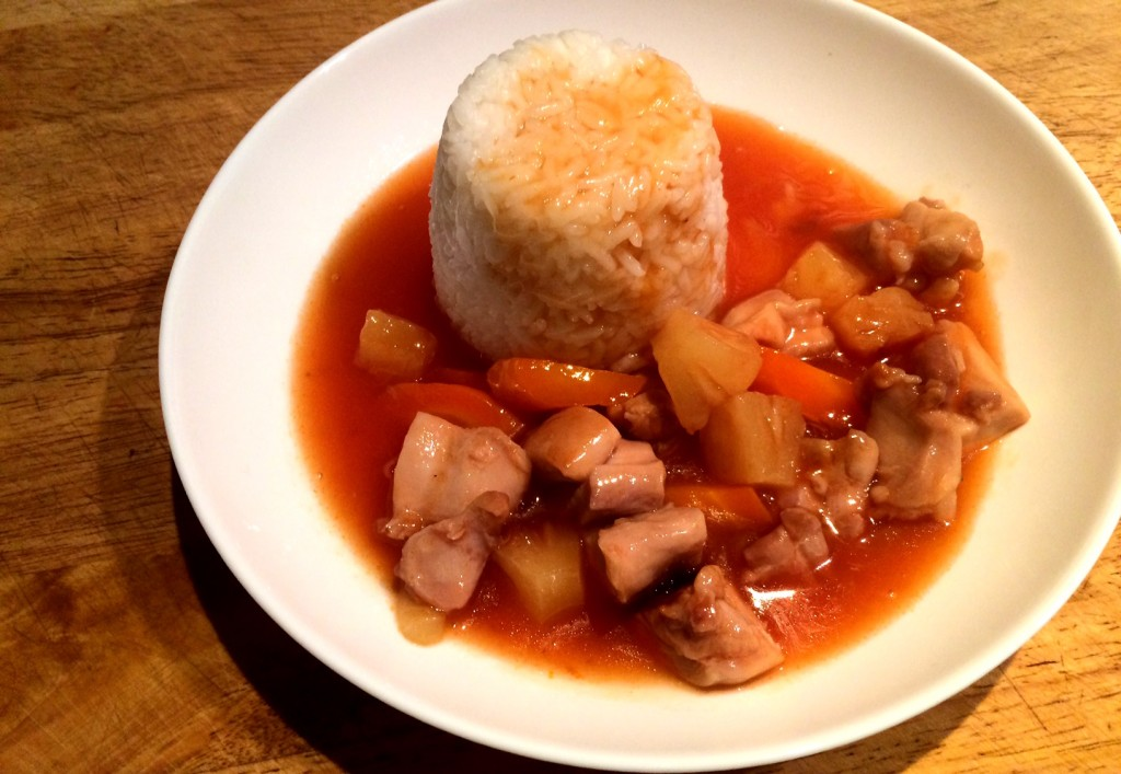Pressure Cooker Sweet and Sour Chicken