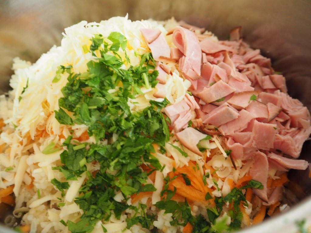 Ham and Mixed Rice Casserole (gluten free) - budget friendly to feed a crowd