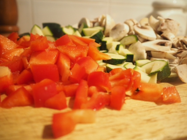 Cheats Roasted Vegetable Pasta Sauce