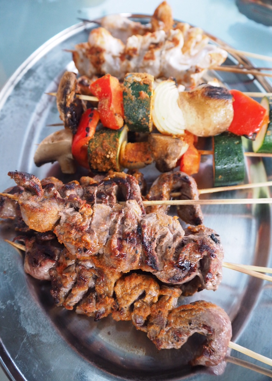 Mexican BBQ Skewers