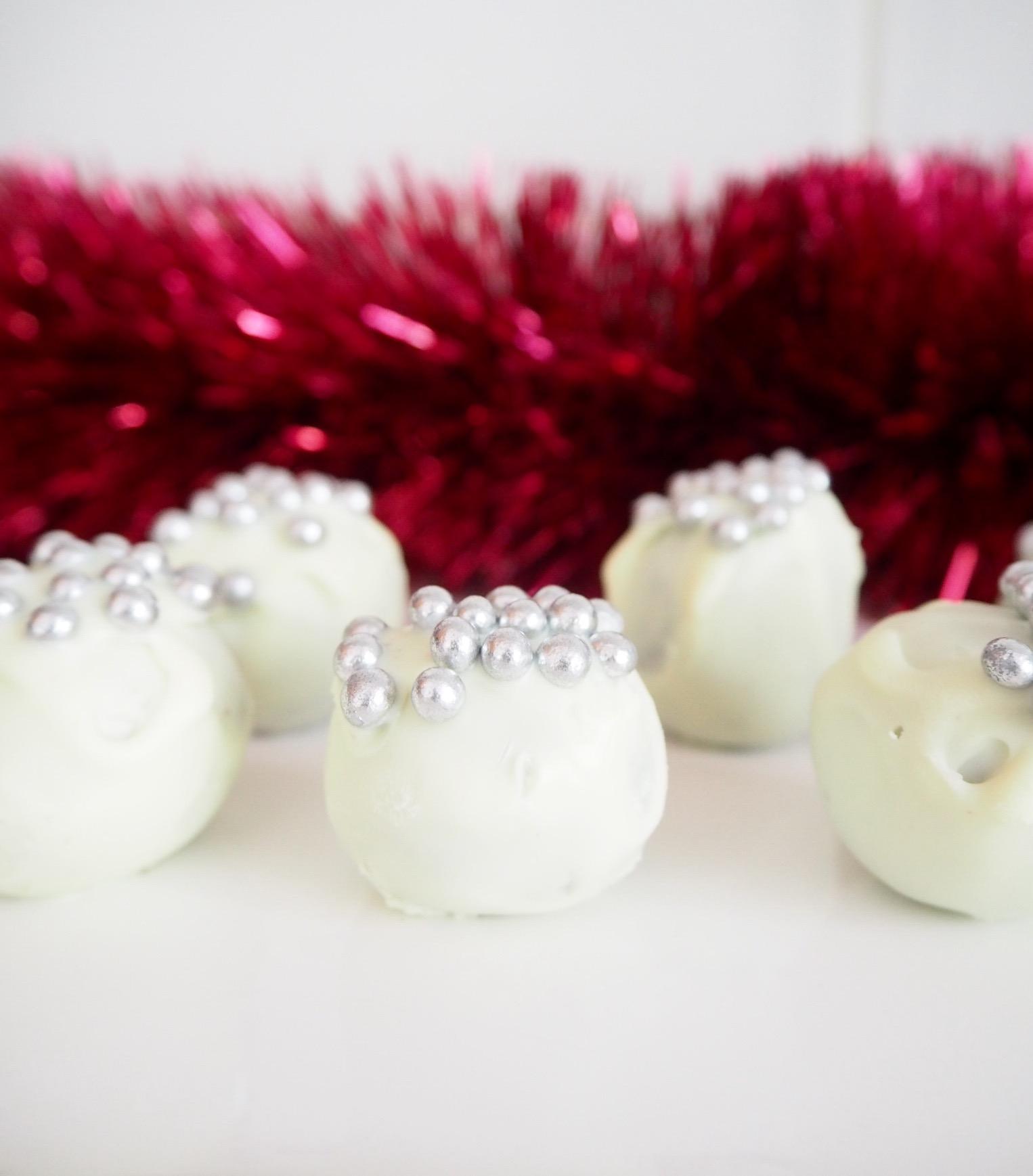 Three Ingredient Oreo Truffle Balls