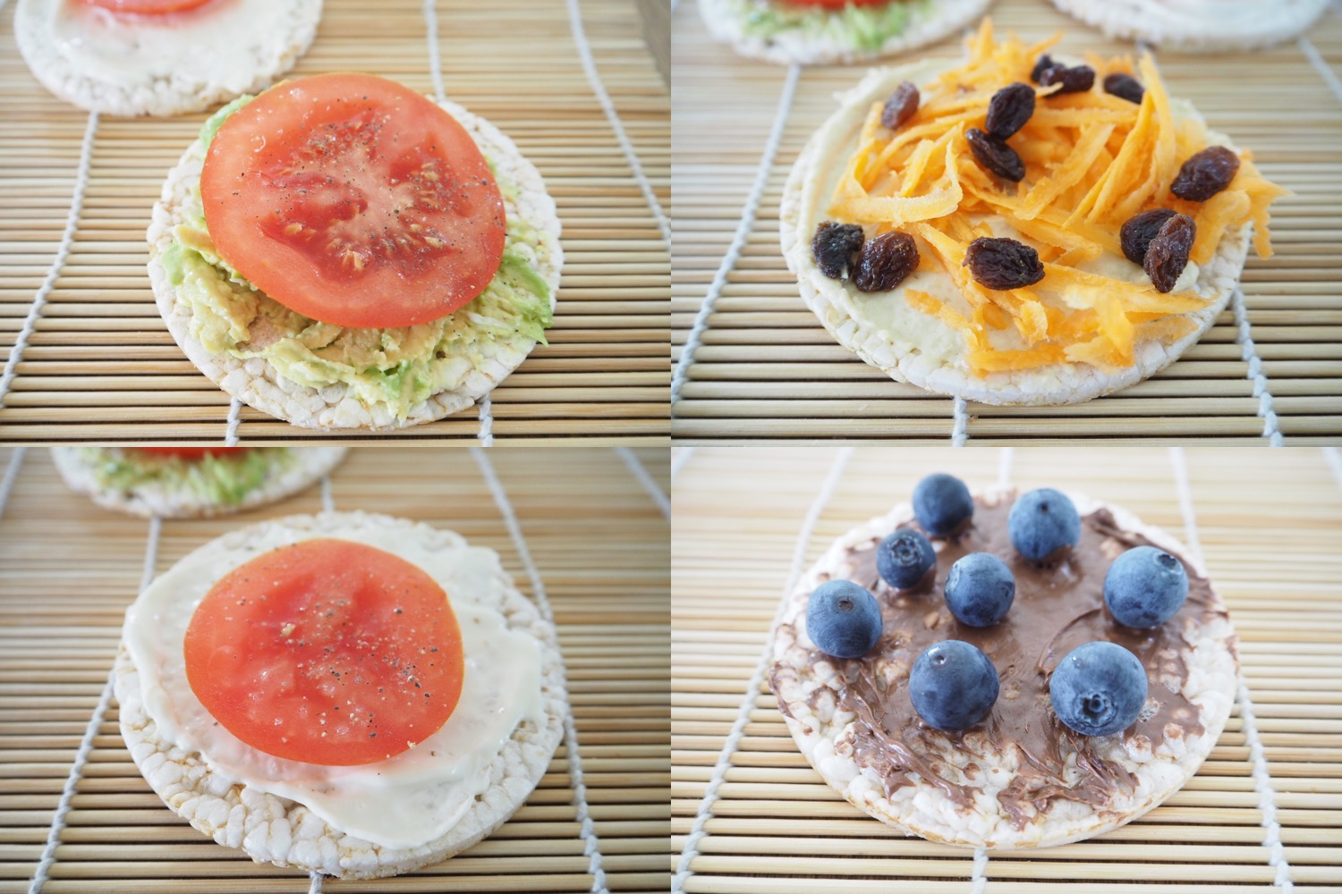 20 Rice Cake Toppings For The Lunchbox Cooking For Busy Mums