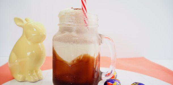 Cadbury Creme Egg Milkshake