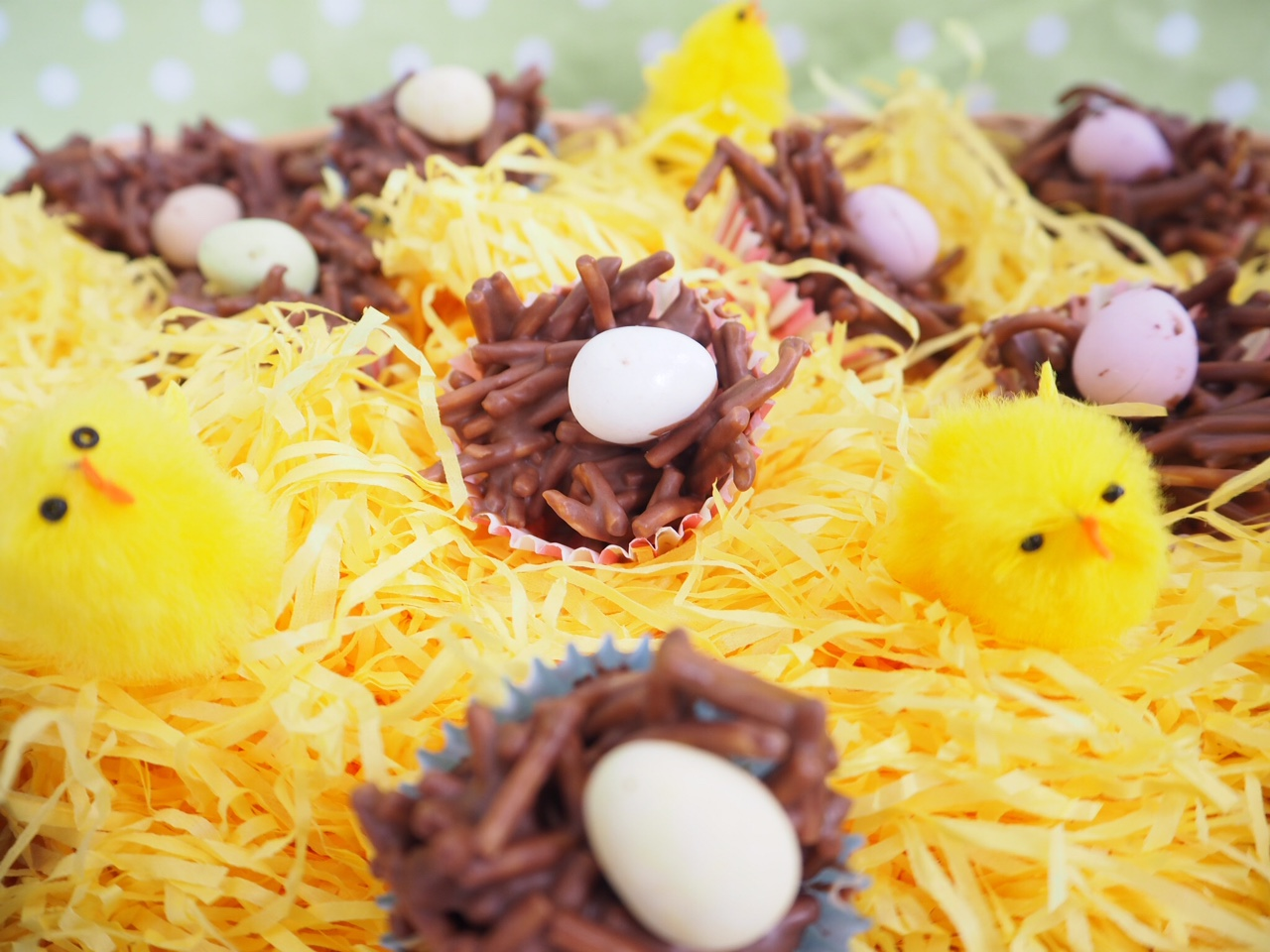 Chocolate Easter Nests