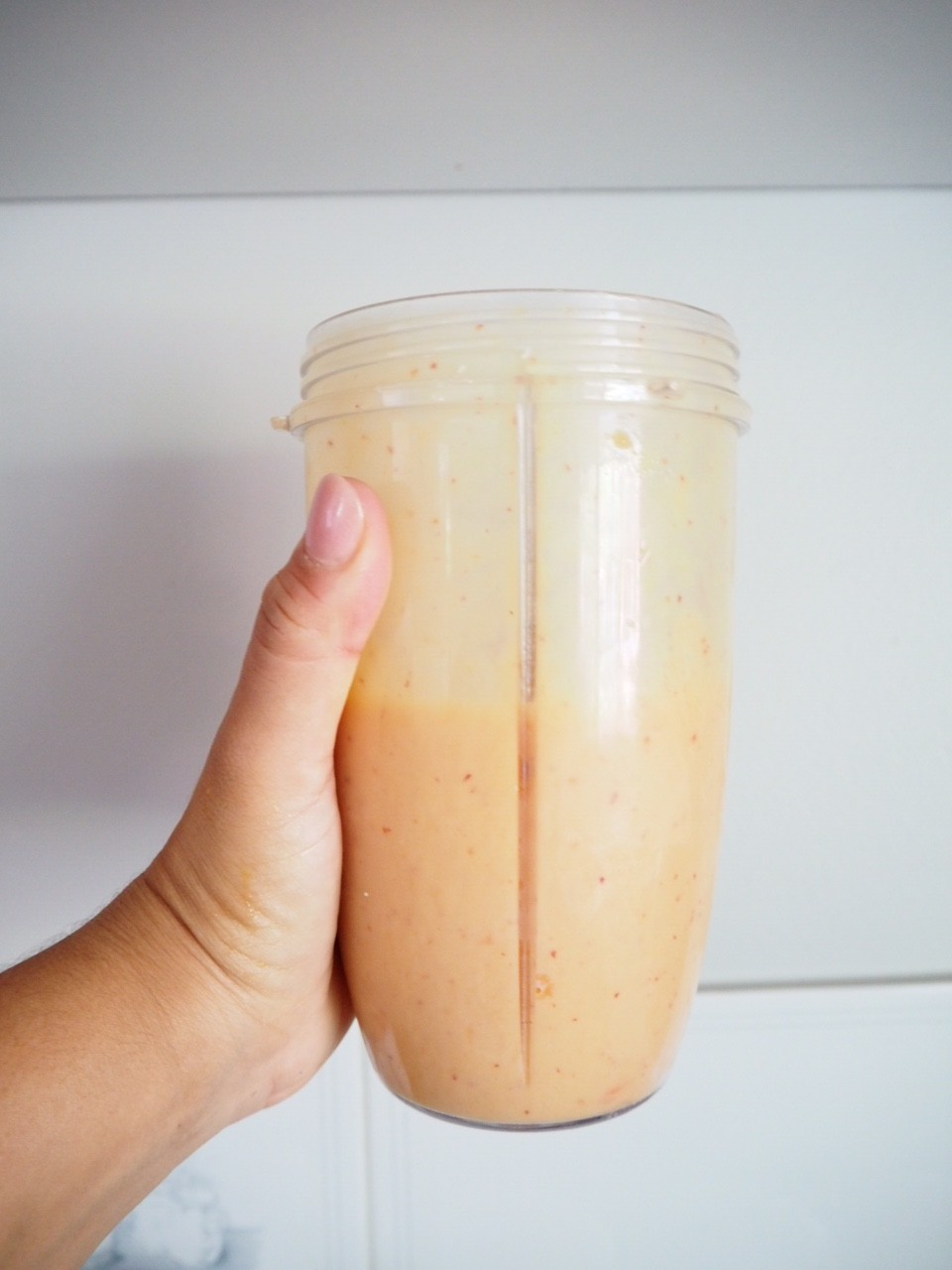Three Ingredient Naturally Sweet and Thick Smoothie