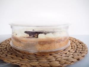 No Bake Chocolate Bavarian Cake made easy with Delicake Cake Ware