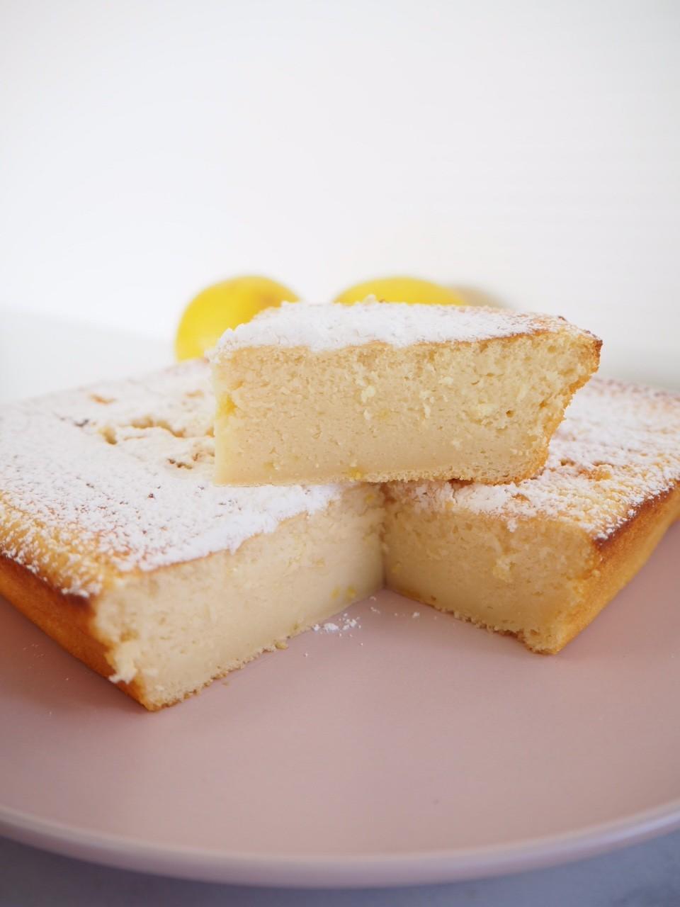 Warm Lemon Cake