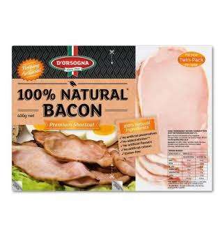 D'Orsogna 100% natural bacon