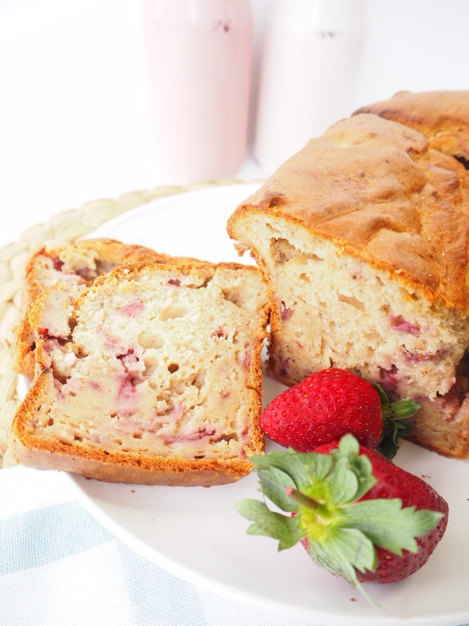 Banana and Strawberry Bread