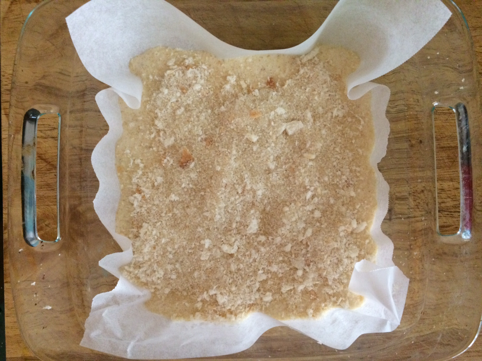Breadcrumb Banana Cake