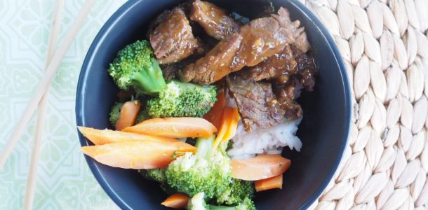 Easy Satay Beef