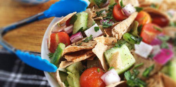 Fattoush Lebanese Bread Salad