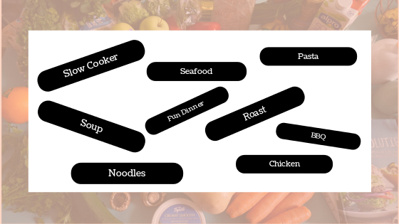 Category Meal Planning