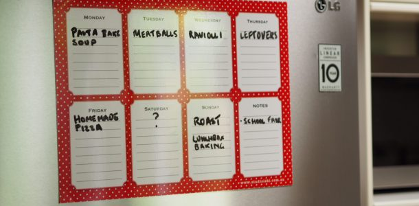 Product Review: Magnetic Weekly Meal Planner
