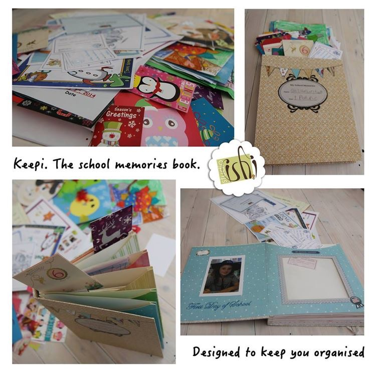 Studio Ishi School Memories Folder Keepi